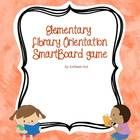 This is a a SmartBoard game to introduce elementary students to the library.  The game has 18 questions and go over rules, library procedures and v...