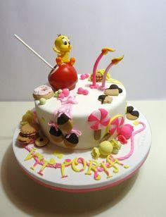 Tweety Cake.