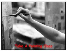 Bucket List: Take A Painting Class