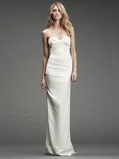 Nicole Miller Bridal...Sweetheart neckline A+