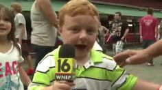 "Lol ""Apparently"" This Kid Is Awesome, Steals The Show During Live Interview"