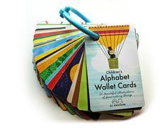 Children's Alphabet Wallet Cards