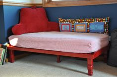 Kids' Daybed - recycling toddler mattress