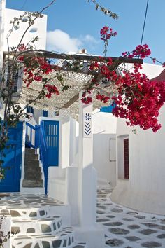 White & Blue of Mykonos, Greece