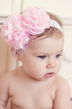 adorno pelo bebé niña DIY