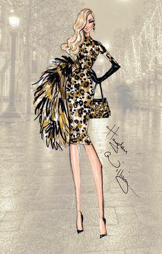 #Hayden-Williams Fashion Illustrations #Illustrations #Artistic