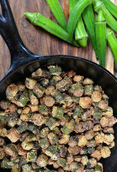 Fried Okra Recipe | A Southern Soul