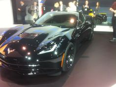 The Corvette that will be featured in the upcoming Captain America movie.