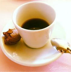coffee + french macarons {delish}
