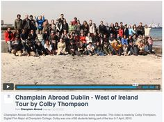 'West of Ireland Tour' by Digital Film Major Colby Thompson '14. Champlain Abroad Dublin takes their students on a West of Ireland tour every semester. Colby was one of 60 students taking part of the tour April 5-7, 2013.