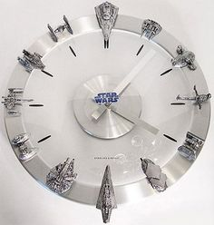 Star wars clock. Yeah I kind of need this to live. >.>