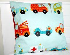 Kids Car Pillow Car Nursery Bedding Kids by LittleCottonShop, €10.00