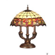 RICHERSON TIFFANY TABLE LAMP