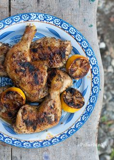 #RECIPE - Lemon and Herbs Rubbed Grilled Chicken