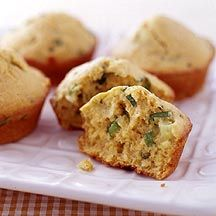 Spicy Corn Muffins - 4 Points+