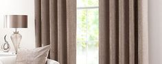 Taupe Chenille Curtain Collection