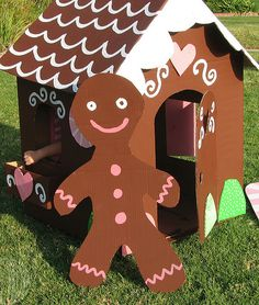 Create A Life-Size Gingerbread House!
