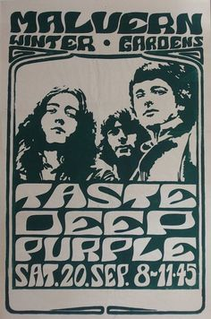 Deep Purple, Malvern Gardens, 1969