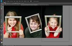 creating photo panels