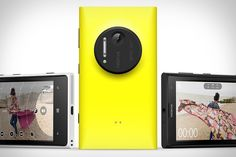 Nokia Lumia 1020 The Nokia Lumia 1020 ($300) will likely become the new benchmark for smartphone cameras. It boasts a 41 megapixel camera, with optical image stabilization, a xenon flash, and Nokia Pro Camera software for expert image editing. That huge sensor captures images at 7712 x 5360 resolution, so no matter how far you are from your subject, you'll be able to crop and zoom to create an image like you were right there.