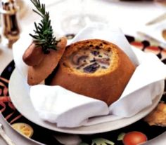 Served for over 20 years onboard their ships - this Mushroom Soup recipe from Crystal Cruise Line is delicious!