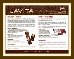 Javita Product Information