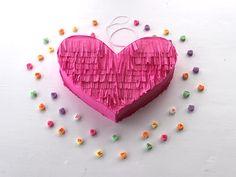 Valentine Heart Piñata >> http://blog.diynetwork.com/maderemade/how-to/valentines-craft-diy-heart-pinata?soc=pinterest