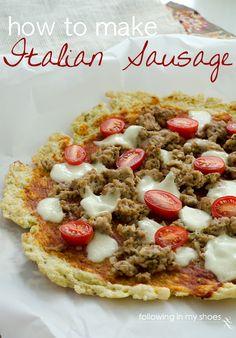 How To Make Italian Sausage