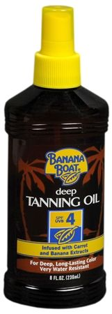 how to use banana boat tanning oil