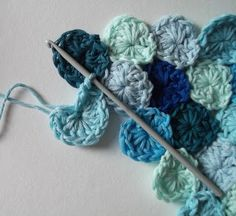 crochet sea, seapenni, crafti, seas, join sea, pennies, knit, sea penni, yarn