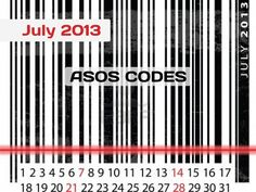 New codes for ASOS in July 2013 http://asos-promo-code.co.uk/july-2013/