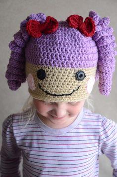 Free Crochet Pattern For Lalaloopsy Hat : Crochet on Pinterest Lalaloopsy, Crochet Hats and Granny ...