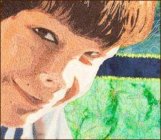quilt portraits | Jennifer Day | Art Quilts | Portraits