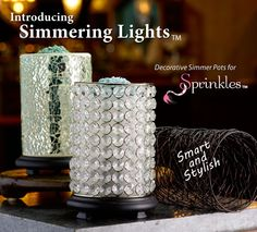 SIMMERING LIGHTS  It's more then a simmer pot!!!  http://www.pinkzebrahome.com/simmering-lights.aspx