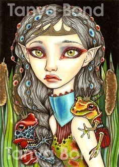 Princesse Grenouille 5x7 print by Tanya Bond. Starting at $9 on Tophatter.com!
