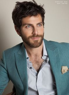 david giuntoli. Grimm. That awesome teal jacket