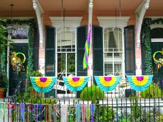 new orleans, houses, gras fun, decorations, mardi gras