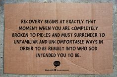 yes. #recovery #sobr