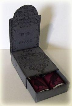Tombstone treat holder