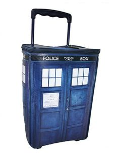 Tardis suitcase....but is it bigger on the inside?