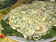 Creamy Zucchini Noodle Pasta