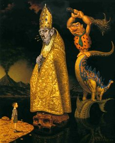 Evolution of Superstition by Todd Schorr