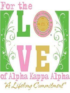 For the LOVE of Alpha Kappa Alpha Sorority, Inc.!!