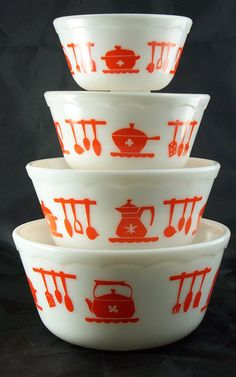 Orange Pyrex~