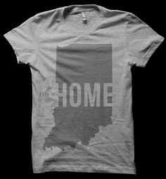 This is Home Tee  United State of Indiana by unitedstateofindiana, $20.00