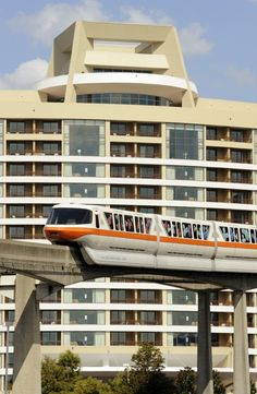 Happiness is... Bay Lake Tower and the Monorail! :-D