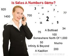 The Fallacy Of Sales Being A Numbers Game number games