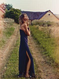 Shore Leave  Freja Beha Erichsen by Cass Bird for UK Vogue January 2014