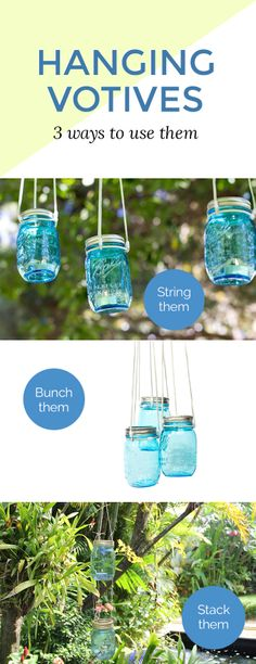 We can't think of a better use for these beautiful blue mason jars #madebyme at #Darbysmart  I just love mason jars.