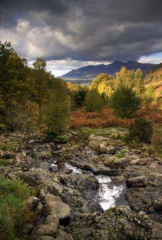 Near Cumbria, Lake District, National Trust, Great Britain.